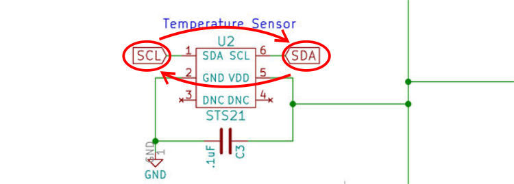 i2c schematic error