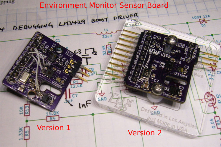 environment monitor sensor board version 2